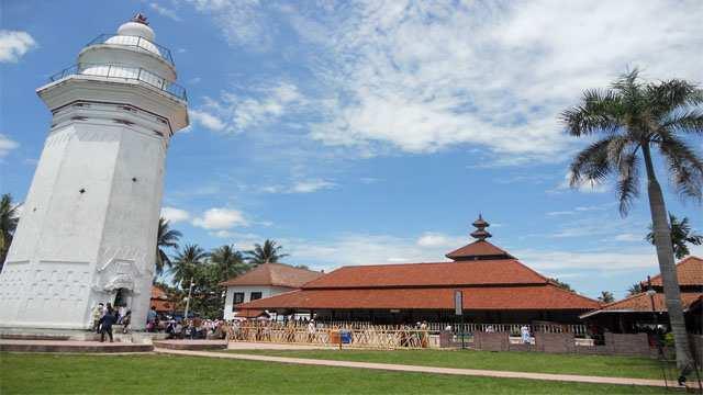 Keindahan Masjid Agung Banten (Foto:Dok)